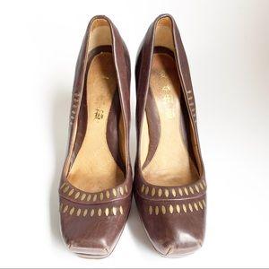 LAMB platform heels sz 9M